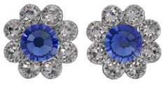 University of Kentucky Blue Daisy Post Earrings | Zokee