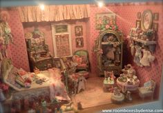 Half-Inch Scale Little Girl's Room