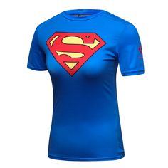 Cheap quick dry woman shirt, Buy Quality tights women directly from China tights women sport Suppliers: M-XXL Gym T Shirt Compression Tights Women's Sports Dry Quick Running Short Sleeve Clothing Marvel Superman Avenger Tee&Tops Superman Shirt, Compression T Shirt, Fandom Outfits, Shirt Price, Supergirl, Sports Women, Sport Outfits, Tee Shirts, Tops