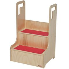 Wood Designs Baltic Birch Plywood Step-Up-N-Wash Children's Step Stool with 200 lb. Childrens Step Stool, Buy Wood, Baltic Birch Plywood, Kids Furniture, Furniture Stores, Living Room Chairs, Home Decor Bedroom, Wood Design, All Modern