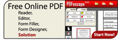 lots and lots of PDF tools - very cool