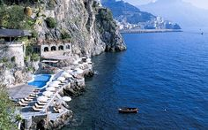 Beach on the Amalfi Coast - Hotel Santa Caterina