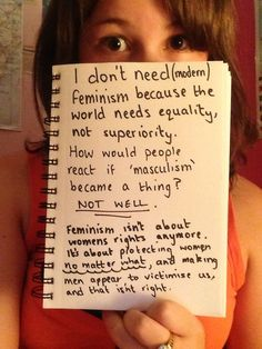 "So sad and misguided: a massive compilation of links about MRA and antifeminism along with some ""don't need feminism because"" pictures 
