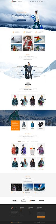 the whole package here : http://themeforest.net/item/mount-psd-template/15023767