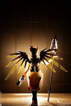 Mercy, This Overwatch Cosplay Is Gorgeous - Shappi Workshop <3 best cosplayer in the world