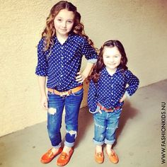 If I had a daughter, we'd match outfits every now and then..cute