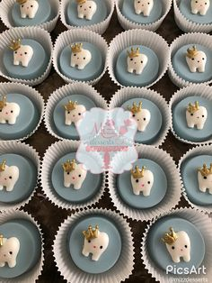 Royal Princess First Tooth Party By: Mizz Desserts