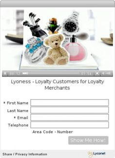 Lyoness - Loyalty Customers for Loyalty Merchants http://www.mylyconet.com/lyconet/shopping-network