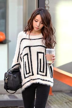 Oversized Sweater. love.