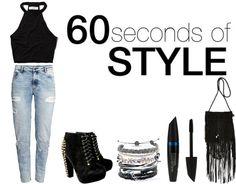 Rock Monday | 60 Seconds Of Style    por Angélica Neetzow | Blog as duas        - http://modatrade.com.br/rock-monday-60-seconds-of-style
