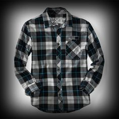 エアロポステール メンズ シャツ Aeropostale Long Sleeve Skate Plaid Woven Shirt シャツ-アバクロ 通販 ショップ-【I.T.SHOP】 #ITShop
