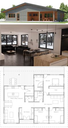 Container Home Plan