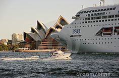 Close Up Of P&O Pacific Jewel Leaving Sydney - Download From Over 24 Million High Quality Stock Photos, Images, Vectors. Sign up for FREE today. Image: 14227626