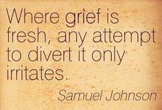 Grief.