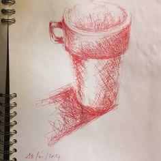#nappe_vegetale #christinebruniau #stylobille #crayon#croquis#dessin#amourdudessin#