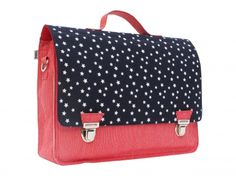 Petit Satchel - Cotton US Flag - Stars and Stripes - 143/146 - hardtofind.