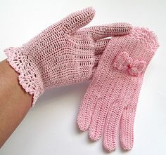 Girl's Gloves 1 Pair Hot Sale Party Supplies Cream Lace Pearl Fishnet Gloves Communion Flower Kids Girl Accessories Fashion Style Cheap Sales 50% Girl's Accessories