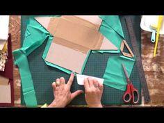 Programa Arte que Faz   Bolsa em Cartonagem   Por Ane Matos
