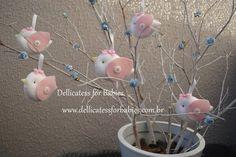 Chaveiro passarinho - Dellicatess for Babies