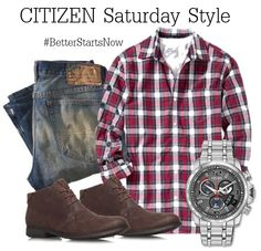 A fashion look from July 2014 featuring mens long sleeve shirts, mens ripped jeans und mens chukka boots. Browse and shop related looks. Casual Wear, Casual Outfits, Men Casual, Men's Outfits, Look Fashion, Autumn Fashion, Fashion Outfits, Womens Fashion, Fashion Trends