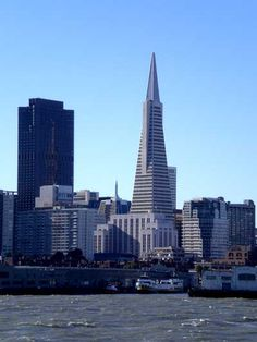Transamerica Building, Downtown San Francisco, CA. One of the most recognizable buildings on the San Francisco skyline. (Not my photo, but I have seen it.)