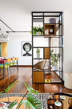Discover Modern examples of Genius Room Divider design Ideas To Maximize Your Home Space. See the best designs for your interior house. Room Interior, Interior Design Living Room, Living Room Designs, Living Room Decor, Modern Interior, Living Room Partition, Room Partition Designs, Living Room Divider, Divider Design