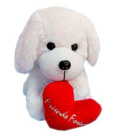 Fun&funky Dog With Heart Stuffed Animal For Girls Girl Online, Teddy Bear, Toys, Fun, Animals, Activity Toys, Animales, Animaux, Teddybear