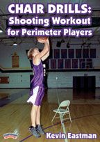 Chair Drills: Shooting Workout  for Perimeter Players - Coach's Clipboard #Basketball DVD Store