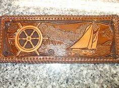 Leather tooled book - Google Search