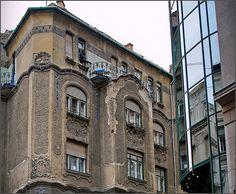 Budapest, Jewish Quarter - Art Nouveau   by elinor04 Thanks for 16,000,000+ views!