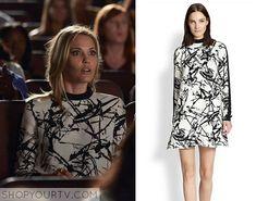About a Boy: Season 2 Episode 6 Dakota's White & Black Print Dress