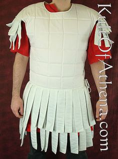Kult of Athena - Roman Linen Subarmalis - $69.95. Also in black & red