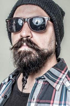 hipster beard - Google Search