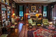 FDR'sStudy in Hyde Park, NY