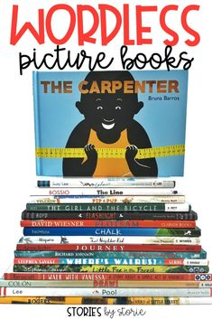 Wordless picture books are not just for your non-readers. In fact, they can sometimes be more difficult because they require a reader to dig deeper and use higher level thinking skills. Wordless picture books allow opportunities to observe, ask questions, make inferences, draw conclusions, and more! Here are some of my favorite wordless picture books for kids.