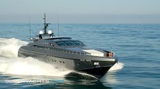 Its not a car but...   Pure Insanity Yacht - Baglietto motor yacht