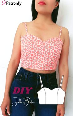 Julia Bustier | PDF Sewing pattern | Bustier Pattern | 6 SIZES | Instant download A4, US letter | Bustier with sweetheart neckline | Patronfy . -Paper sizes: A4 and Letter Nº pages A4: 6 Nº pages Letter: 6 . SEWING LEVEL Intermediate . FABRIC Type: Woven 0.35m of woven fabric 0.35m of lining fabric Fabric requirement is calculated for 150cm wide fabric. It can be lined with lining fabric or the same fabric as the front piece. Lining Fabric, Woven Fabric, Pdf Sewing Patterns, Digital Pattern, Pattern Paper, Paper Size, Youtube, Camisole Top, Lettering