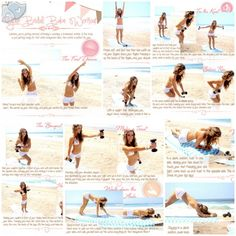 I'm not anywhere near being a bride but this is an amazing workout. 10-20 Reps, 3 times through! Tone It Up! Blog - A Very Special Tone It Up Tuesday!  ♡ Bridal Babe Workout!!