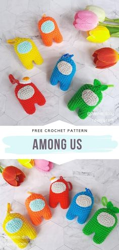 Crochet Amigurumi Free Patterns, Crochet Animal Patterns, Crochet Dolls, Knitting Patterns, Stitch Patterns, Sewing Patterns, Cute Crochet, Crochet For Kids, Crochet Game