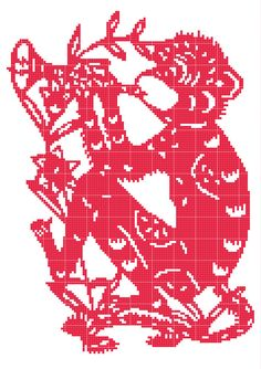Gong Xi Fa Cai!    Celebrate Chinese New Year in your very own home with this cross stitch pattern. A bright and bold design based on this