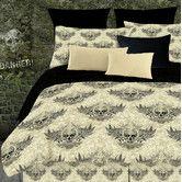 Found it at Wayfair - Veratex Winged Skull 2 Piece Comforter Set