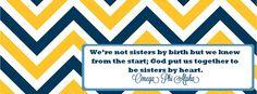 Omega Phi Alpha #Chevron #Sisters #Big #Little
