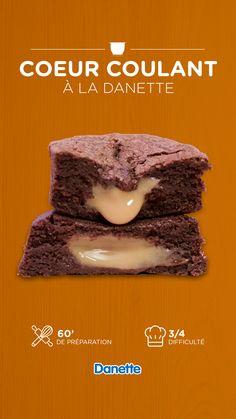 Brownie Recipes, Cake Recipes, Brownie Cupcakes, Cake Factory, Diy Food, Love Food, Nutella, Biscuits, Caramel