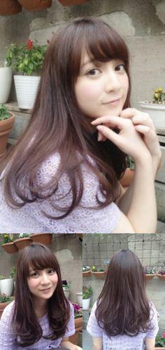黒髪でも柔らかい大人可愛いワンカール☆