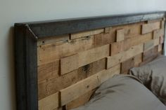 I really really like this headboard.  25 Cool DIY Projects And Ideas You Can Do Yourself
