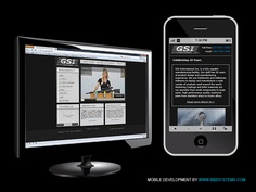 Mobile site for GSI International by BBB Systems