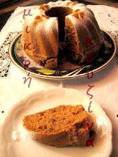 μικρή κουζίνα: Νηστίσιμη καρυδόπιτα Vegan Sweets, French Toast, Breakfast, Food, Cakes, Rezepte, Breakfast Cafe, Essen, Cake