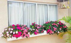 Plantas fáceis de cuidar: 40 espécies práticas para cultivar em casa Flower Beds, My Flower, Easy Garden, Home And Garden, Flower Bed Designs, Balcony Planters, Backyard Garden Design, Window Boxes, Hanging Baskets