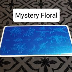 Plates For Sale, Mystery, Floral, Flowers, Flower