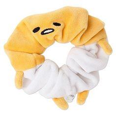New! Gudetama Chouchou Hair Band Yellow Sanrio Japan F/S #Sanrio